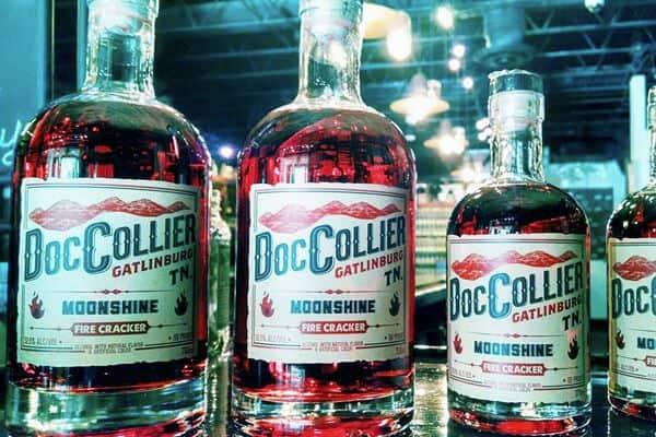 Doc Collier Moonshine - LOGO