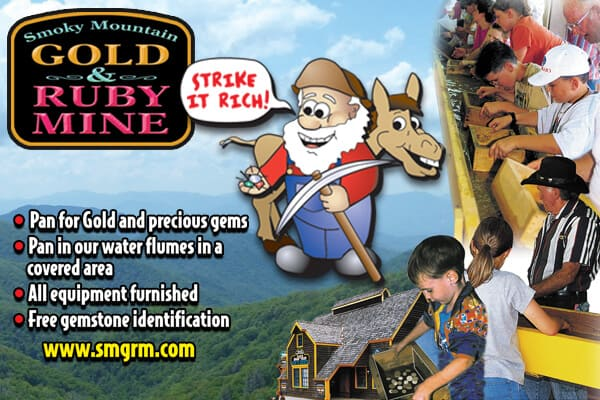 Smoky Mountain Gold & Ruby Mine - LOGO