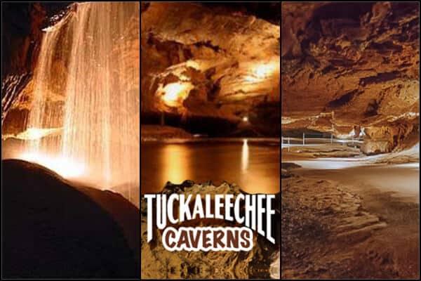 Tuckaleechee Caverns - LOGO