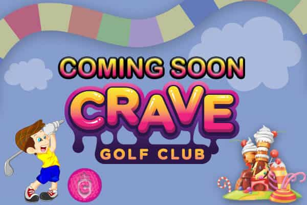 Crave Golf Club - LOGO