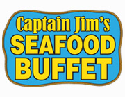 Captain Jim's Seafood Buffet  logo