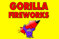 Gorilla Fireworks USA  logo