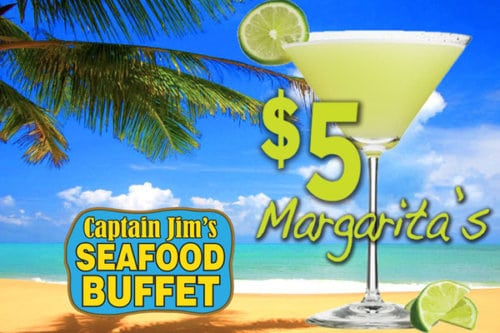 Captain Jim's $5 Margarita