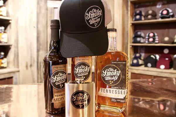 ole smoky whiskey products gatlinburg, tn