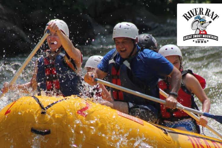 Smoky Mountain River Rat Whitewater Rafting