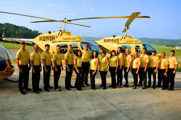 Scenic Helicopter Tours Flight Crew