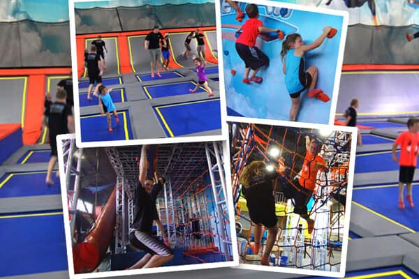 sevier air trampoline ninja park photos