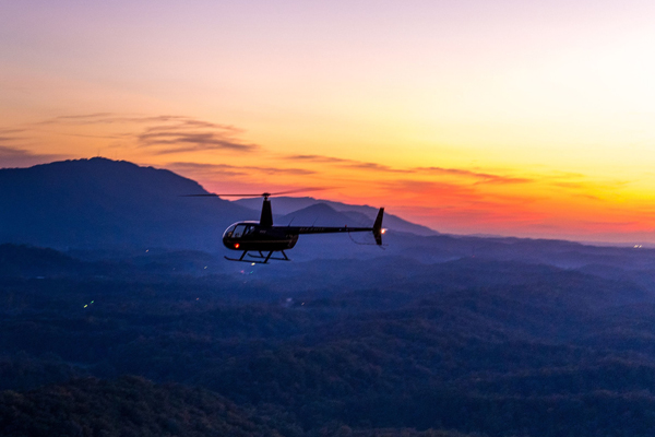 helicopter tours pigeon forge