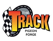 The Track Pigeon Forge logo