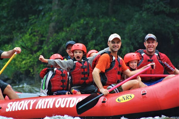 Smoky Mountain Outdoors Whitewater Rafting - LOGO