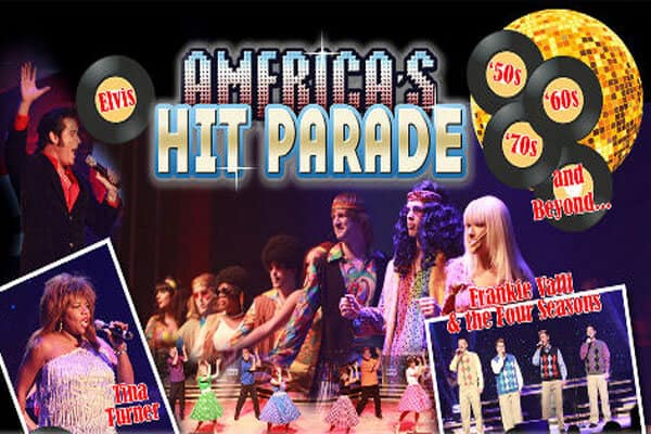 Hit Parade 50s & 60s at Grand Majestic - LOGO