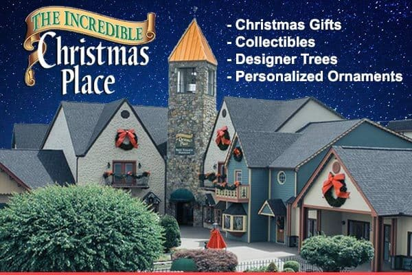 The Incredible Christmas Place - LOGO