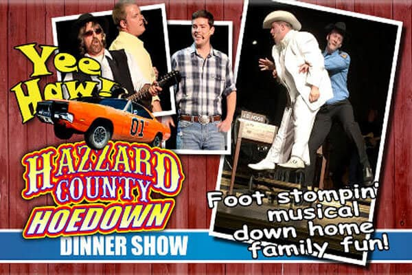 Hazzard County Hoedown at The Grand Majestic Theater - LOGO