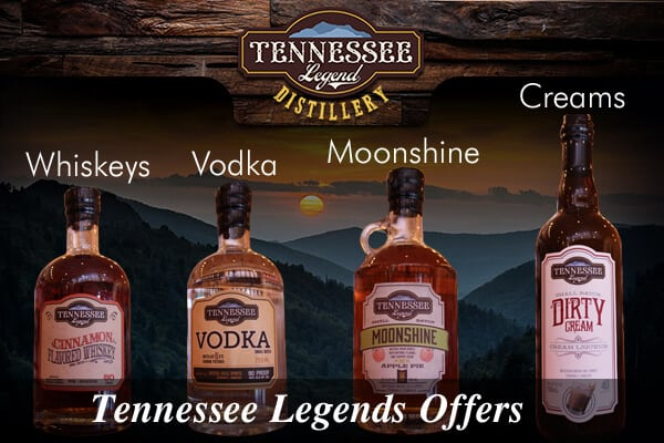 Tennessee Legend Distillery - LOGO