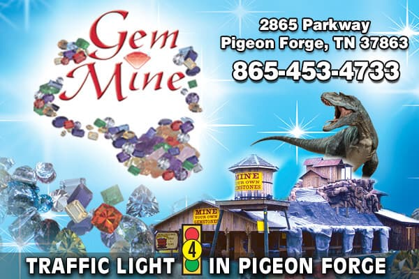 Pigeon Forge Gem Mine - LOGO
