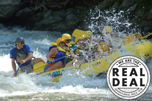 Rafting in the Smokies - LOGO