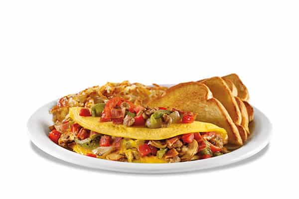 dennys pigeon forge ultimate omellete