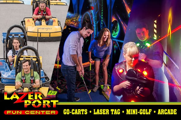 lazerport fun center pigeon forge
