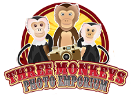 Three Monkeys Photo Emporium Coupon